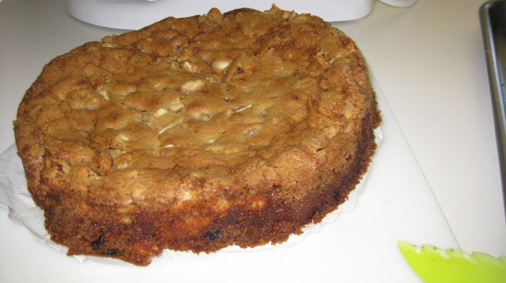 MakeMineLemon – Apple Walnut Cake