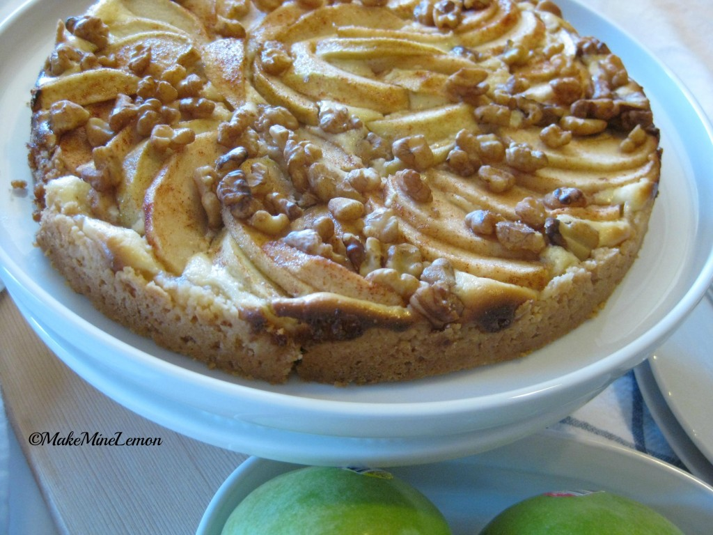 MakeMIneLemon – Apple Cream Tart