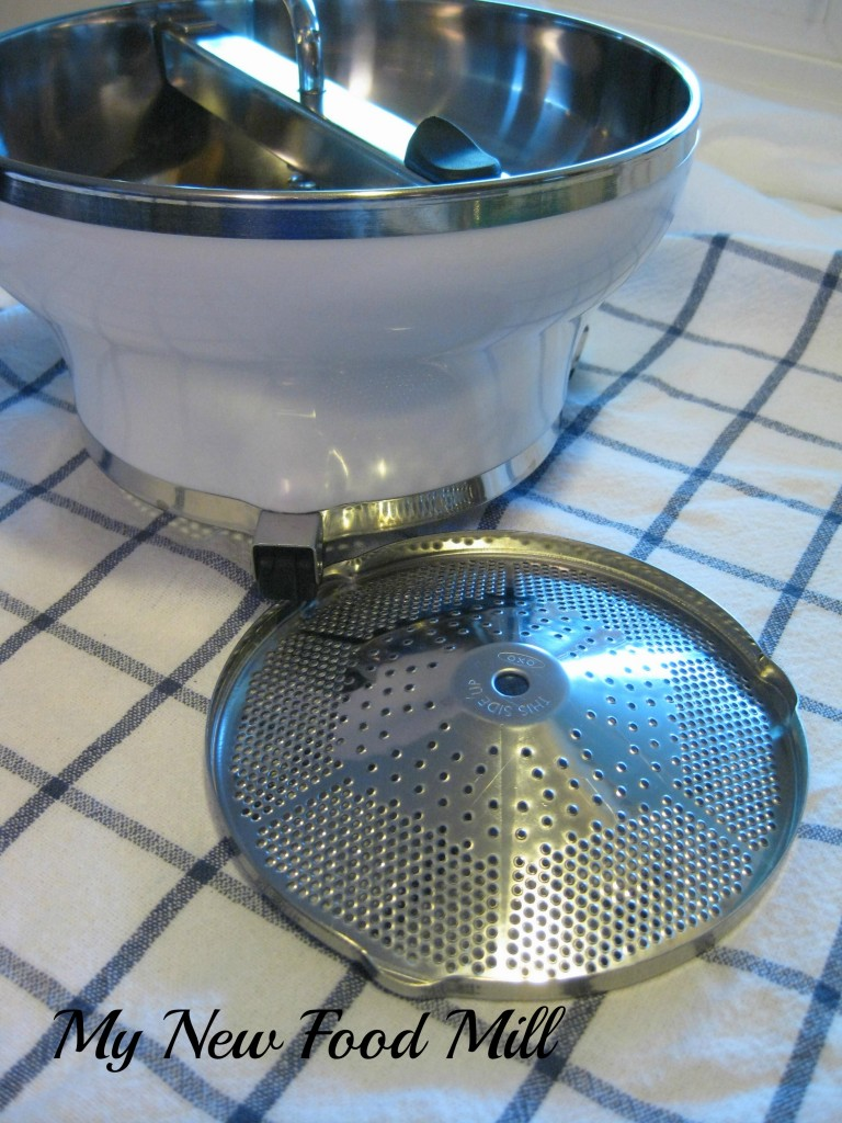 ©MakeMineLemon - My New Food Mill