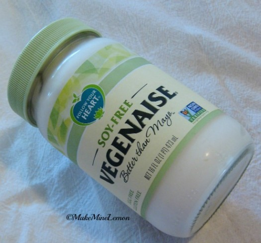 ©MakeMIneLemon - Soy-Free Vegenaise