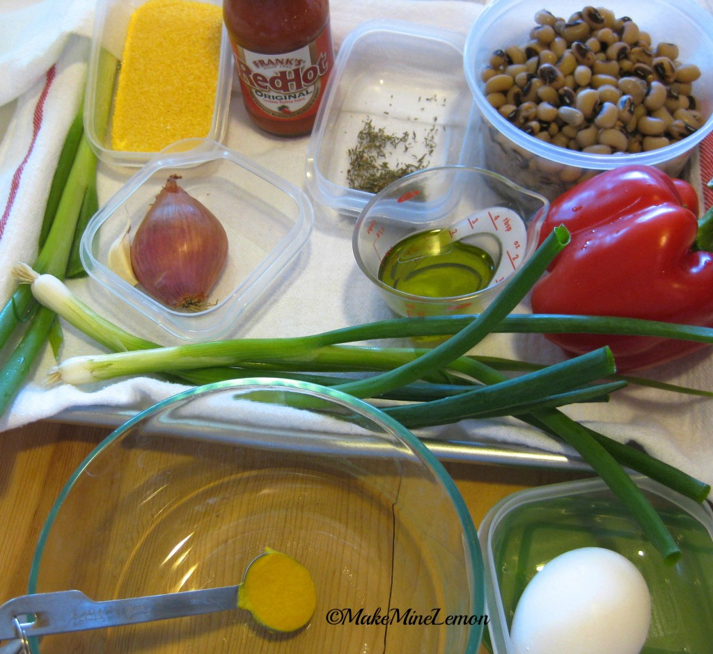 ©MakeMineLemon - Vegetarian Burger Mise En Place